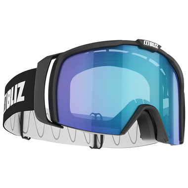 BLIZ NOVA (MATT BLACK) - Blue multi lens