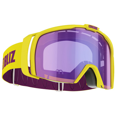BLIZ NOVA (SHINY YELLOW) - Purple multi lens
