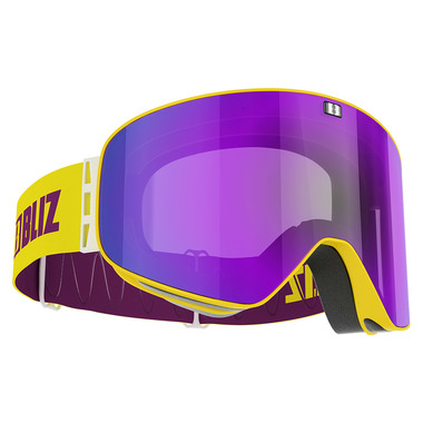 BLIZ FLOW (SHINY YELLOW) - Purple Multi + Yellow