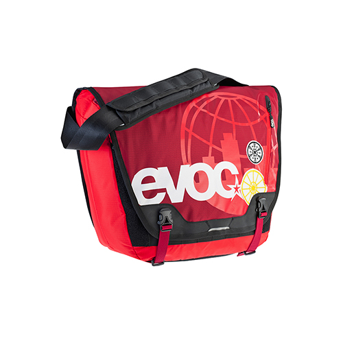 EVOC MESSENGER BAG (RUBY)